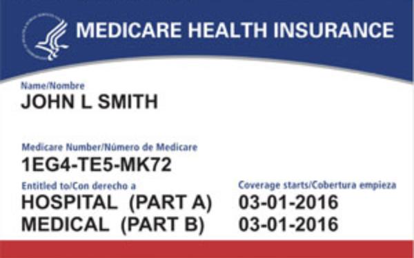 Medicare card-1